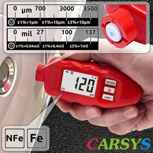 Толщиномер CARSYS DPM-816 PRO (красный, полный комплект)-2