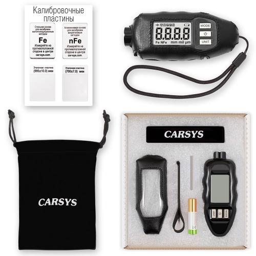 Толщиномер CARSYS DPM-816 PRO (черный, полный комплект)-1