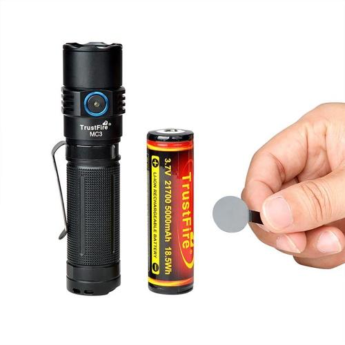 Фонарь TrustFire MC3 с магнитной зарядкой-7