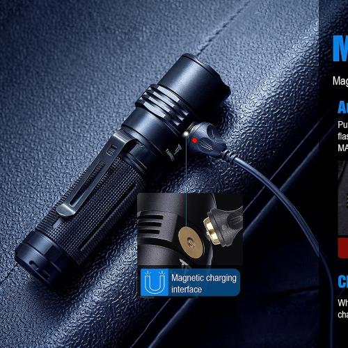 Фонарь TrustFire MC3 с магнитной зарядкой-12