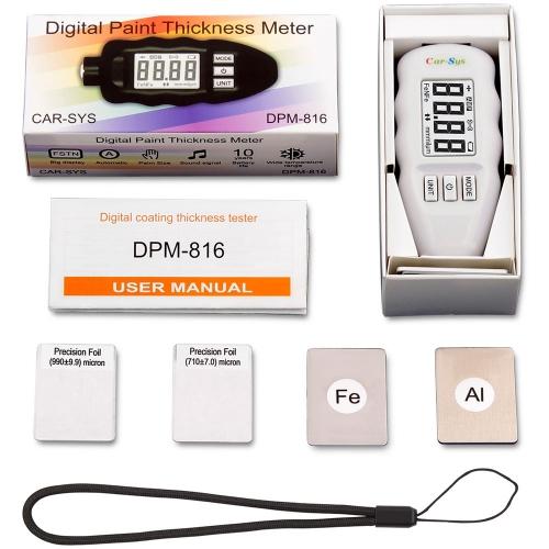 Толщиномер CARSYS DPM-816 PRO (без чехлов)-4